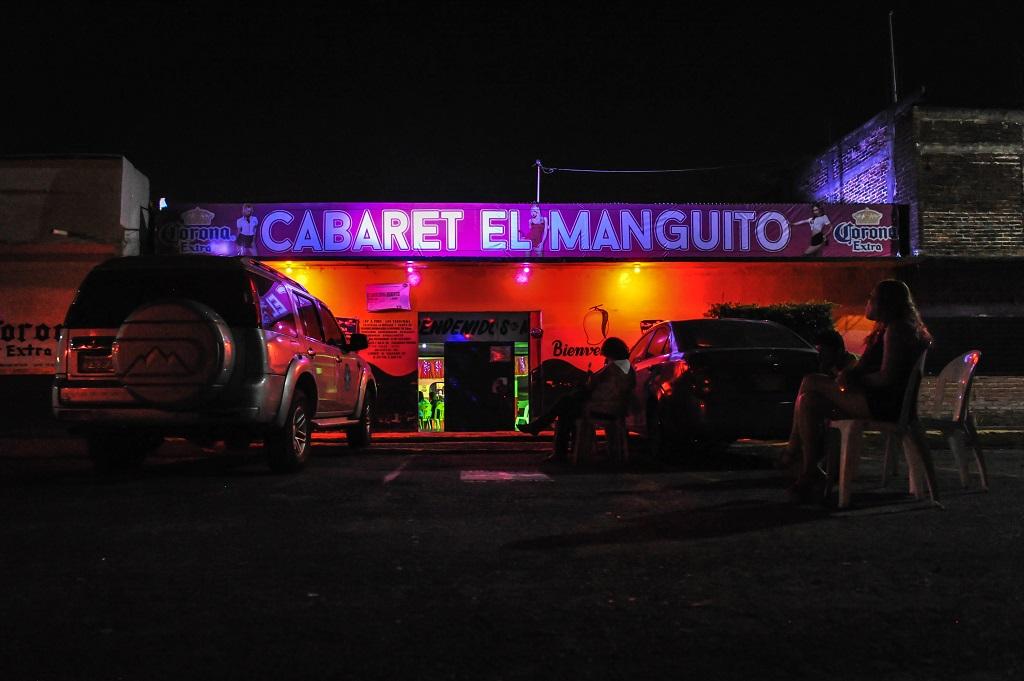 imagen de uno de los cabarets donde se ejerce la prostitución en Tapachula