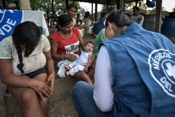 Atención sanitaria a la población víctima del conflicto. @Quentín Top