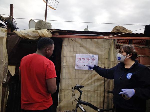 Preocupación de los trabajadores migrantes del campo almeriense por el coronavirus.