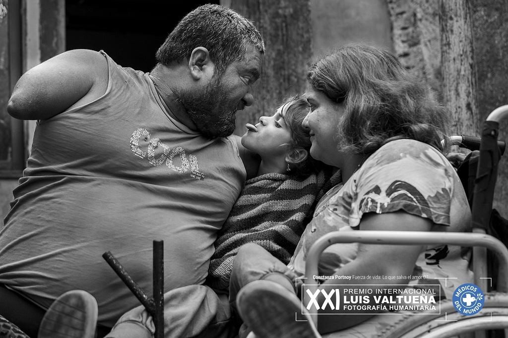 Imagen de Jorge, Vero y su pequeña hijita Ángeles
