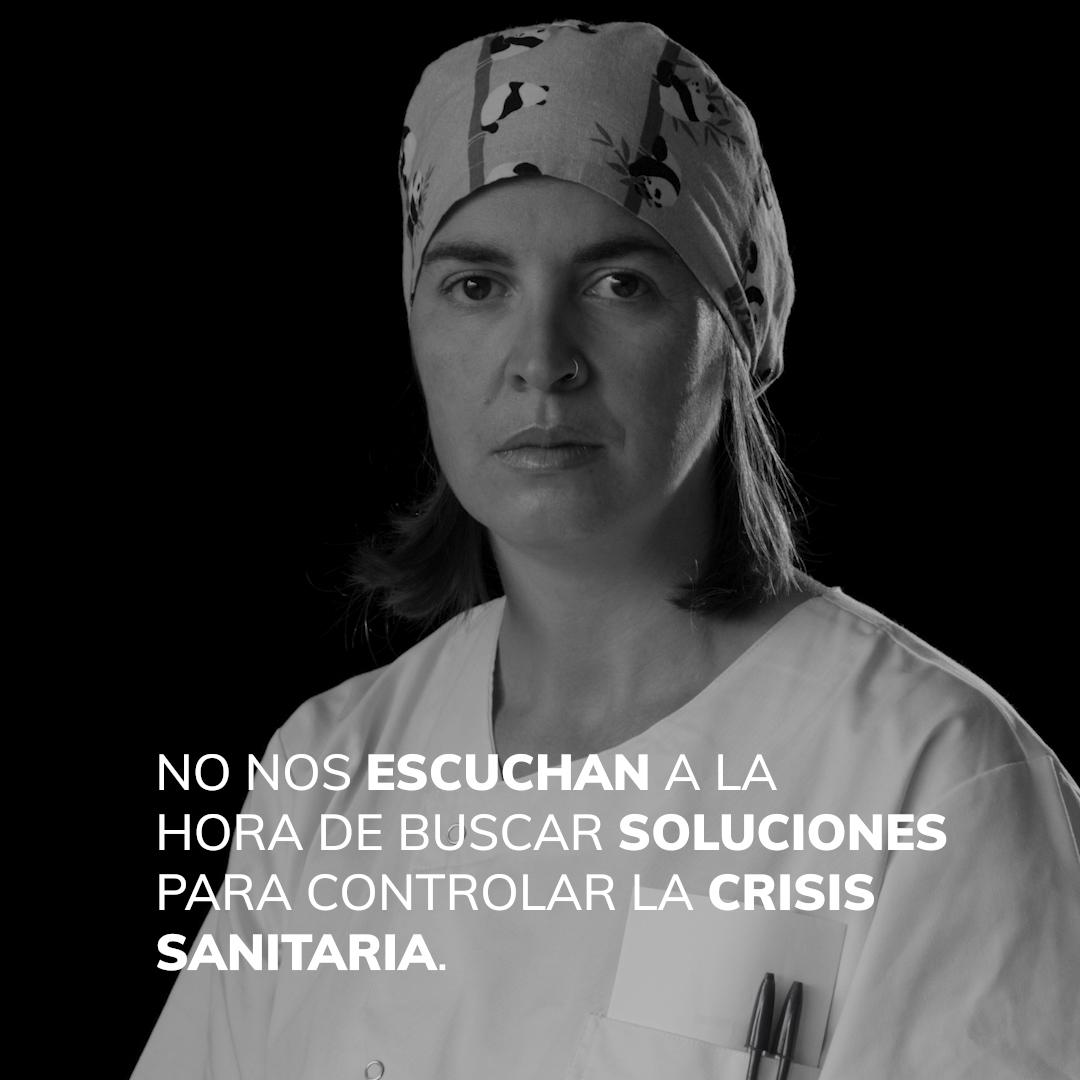 Médica especializada en enfermedades tropicales que recuerda la incertidumbre ante la llegada de los primeros pacientes de covid-19 a su hospital.
