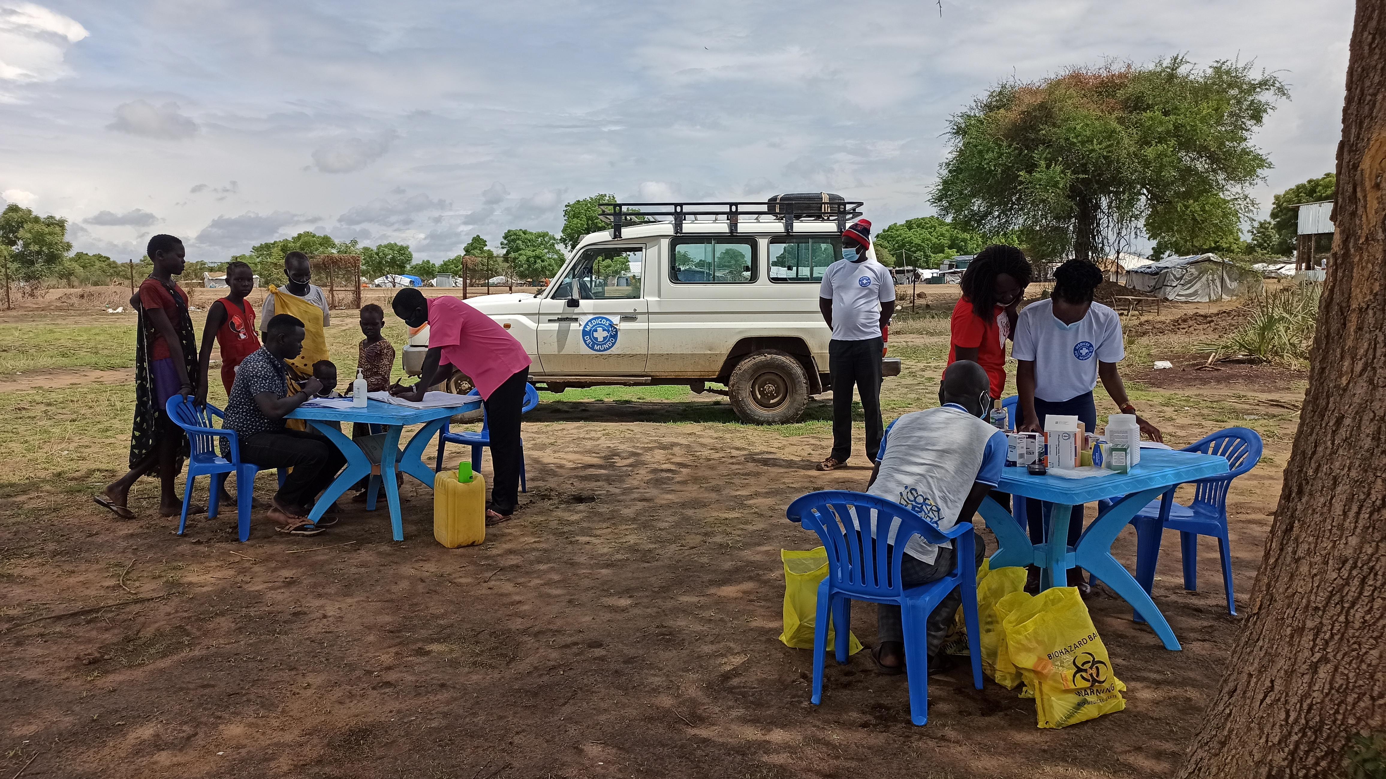 En Sudán del Sur, el país más joven del mundo, más de ocho millones de personas necesitan asistencia humanitaria