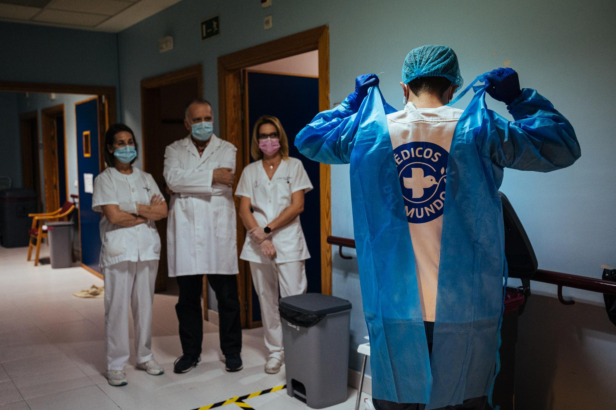 Formación de profesionales socio sanitarios en una residencia de personas mayores en Valladolid.