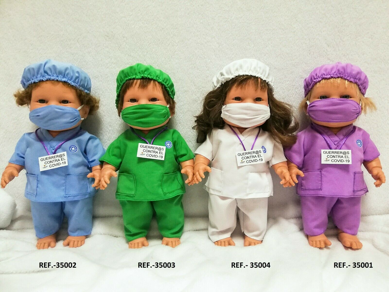 Serie de muñecas a beneficio de Médicos del Mundo