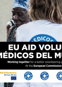 Invitación al acto de voluntariado de la Unión Europea