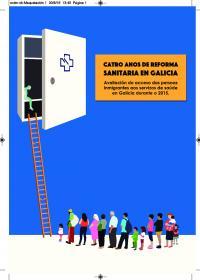 Portada Catro anos de Reforma Sanitaria en Galicia