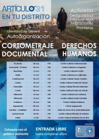 Cartel del II Festival Artículo 31 en los barrios de Madrid.
