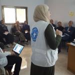 Formación en salud mental para profesionales sanitarios en Gaza.