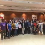 Reunión de la ministra de sanidad con la sociedad civil el 20 de junio.