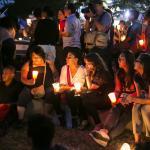Homenaje a Angel Gahona, periodista asesinado en Nicaragua