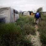 Atención a personas temporeras durante la pandemia por la covid-19 en los asentamientos de Almería.