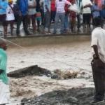 imagen de los efectos de las lluvias en Haití