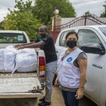 Distribuimos kits de higiene entre las familias afectadas por el terremoto en Haití