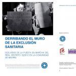 Portada Derribando el muro de la exclusión social. Dos años de la puesta en marcha del Real Decreto Ley 16/2012 en la Comunidad de Madrid