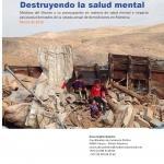 Portada Destruyendo la salud mental en Palestina
