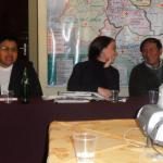 Asistentes participan en uno de los espacios de debate del IV Encuentro Andino.