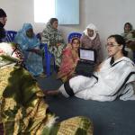 Charla formativa al equipo de matronas en los Campamentos de Personas Refugiadas Saharauis en Tinduf