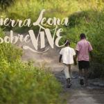 "Cartel del documental ""Sierra Leona sobreVIVE"""