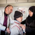 Nuestros equipos apoyan decenas de centros de salud y hospitales en Siria y en los países vecinos.