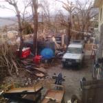 Repunte del cólera tras el paso del huracán Matthew.