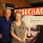 Juan Echanove y María Galiana animan a enviar el SMS Nadie desechado al 28014.