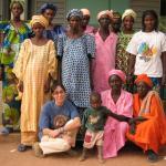 Grupo de matronas en Kkene, Senegal.