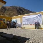 Murales de la memoria simbólica colectiva de salud mental por la Paz y Reconciliación.