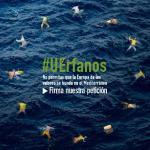 CEAR lanza la campaña #UErfanos para evitar más muertes en aguas del Mediterráneo.