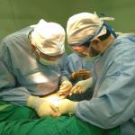 Equipo de Médicos del Mundo realiza operación quirúrgica en Gaza