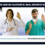 Juro que no acataré el Real Decreto 16/2012.