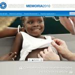Atención sanitaria a una niña tras el terremoto de Haití.