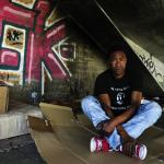 Fotografía de Enrique Lopez-Tapia, retrato de Joao, persona sin hogar