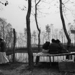 Grupo de mujeres víctimas de trata en India y Nepal.