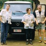 El 18 de enero de 1997, asesinaron a Manuel, Flors y Luis en la casa que MdM tenía en el distrito de Ruhengheri, al noroeste.