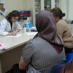 Actividad del Centro de Atención Sociosanitaria de Médicos del Mundo Comunidad de Madrid.