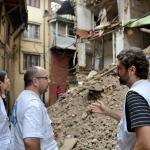 El 25 de abril de 2015 un terremoto de magnitud 7.8 sacudió Nepal dejando más de 9.000 personas. muertas.