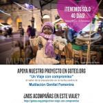Un Viaje con Compromiso' es el proyecto finalista presentado por Médicos del Mundo Euskadi.