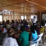 Cursos a personal de enfermería en la escuela de Pemba.