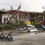 """Efectos del tifón """"Yolanda"""" en el archipiélago de las Visayas."""