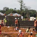 El centro de tratamiento de ébola en Moyamba cuenta con 100 camas y está financiado por la Agencia de Cooperación de Reino Unido.