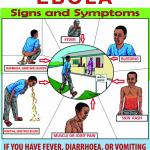 Porter donde se ven imágenes de los síntomas del ébola como vía para una rápida detección.