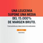 imagen con lema de la campaña #elpreciodelavida