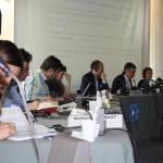 Presidentes de Médicos del Mundo España, Francia y Grecia en Madrid.