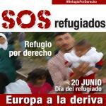 Cartel del Día del Refugiado