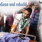imagen campaña #OpenGaza