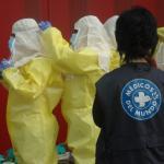Taller de formación a personal sanitario en atención de pacientes con ébola en la sede de Illes Balears.