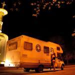 Unidad Móvil de Médicos del Mundo para su trabajo con personas que ejercen la prostitución