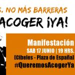 imagen cartel #QUEREMOSACOGERYA