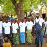 Campaña de sensibilización comunitaria en la localidad de Madibaya, Kayes (Mali).