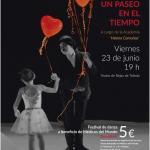 Cartel del festival de danza en el Teatro Rojas de Toledo